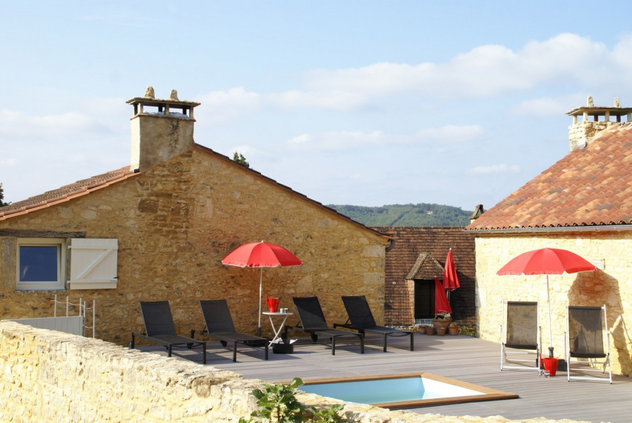 Location vacances Castelnaud-la-Chapelle -  Maison - 10 personnes - Barbecue - Photo N° 1