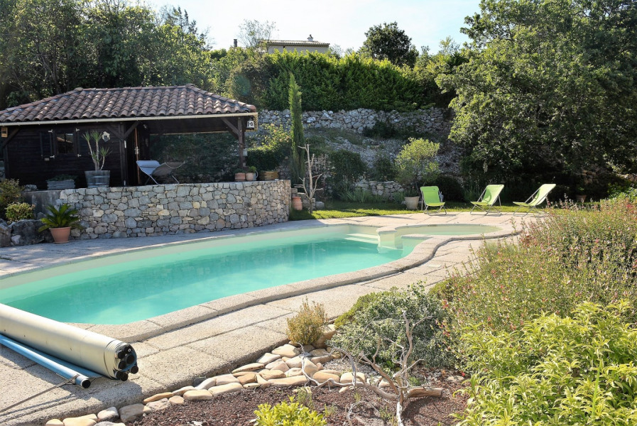 Holiday rentals Chauzon - Apartment - 6 persons - Television - Photo N° 1