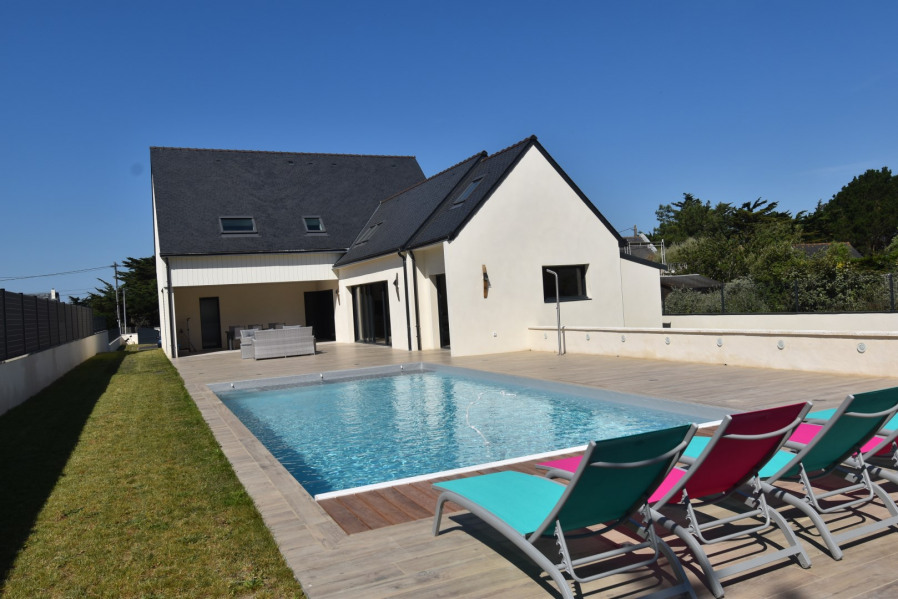 Holiday rentals La Turballe - House - 8 persons - Deck chair - Photo N° 1
