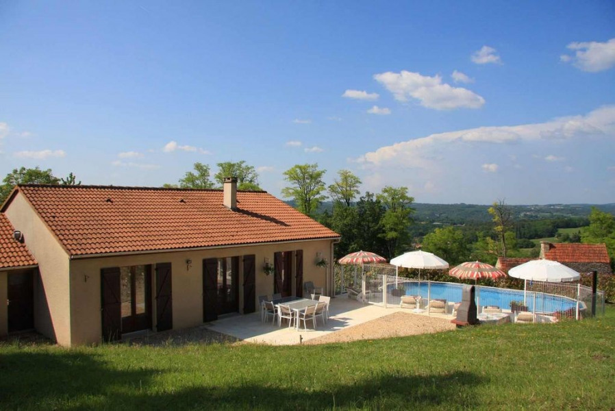Holiday rentals Sarlat-la-Canéda - House - 10 persons - BBQ - Photo N° 1
