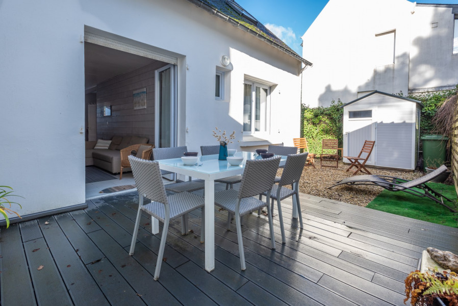 Holiday rentals Carnac - House - 10 persons - BBQ - Photo N° 1