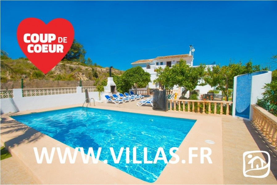 Holiday rentals Benissa - House - 15 persons - BBQ - Photo N° 1