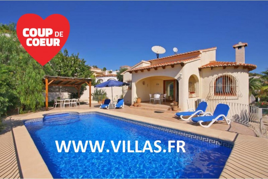 Holiday rentals Calp - House - 4 persons - BBQ - Photo N° 1
