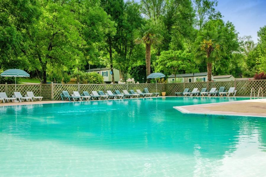 Ferienwohnungen Carsac-Aillac - Campingplatz - 6 Personen - Tennisplatz - Foto Nr. 1