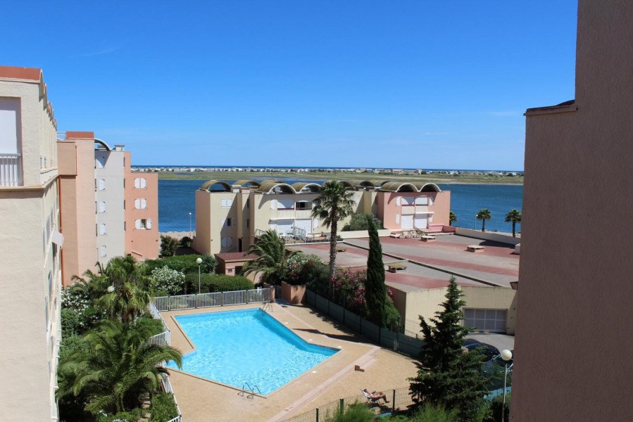 Location vacances Gruissan -  Appartement - 3 personnes -  - Photo N° 1