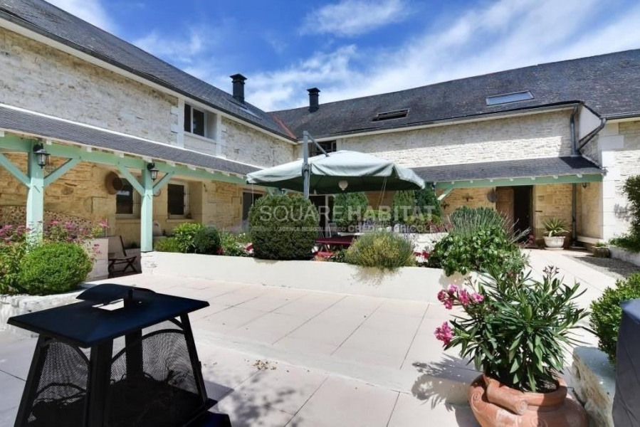 Holiday rentals Richelieu - House - 10 persons - BBQ - Photo N° 1