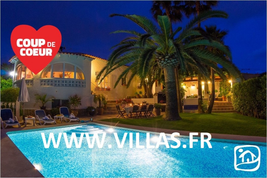 Location vacances Calp -  Maison - 10 personnes - Barbecue - Photo N° 1