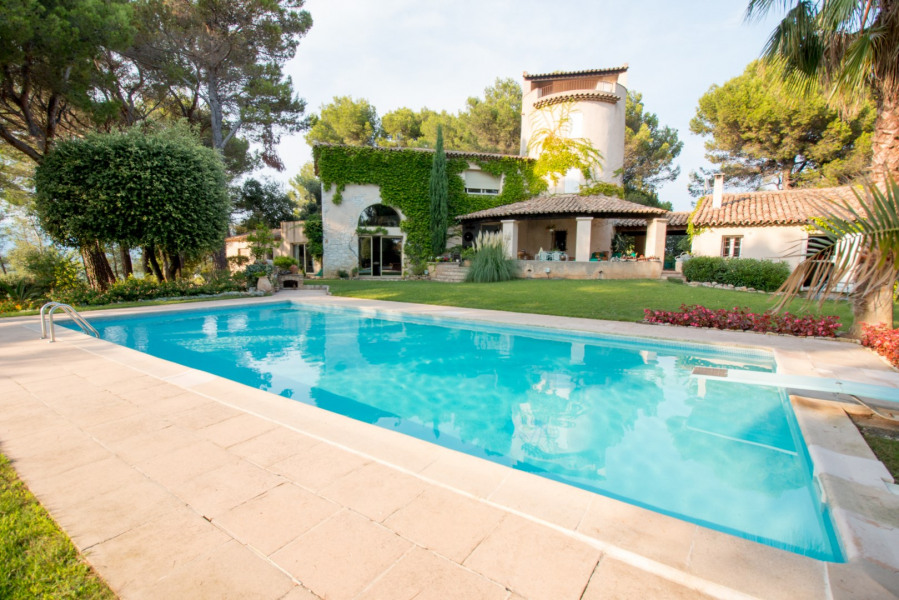 Holiday rentals Mougins - House - 10 persons -  - Photo N° 1