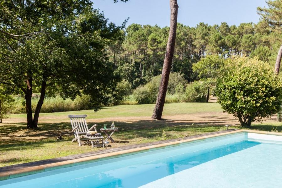 Location vacances Moliets-et-Maa -  Maison - 8 personnes - Barbecue - Photo N° 1