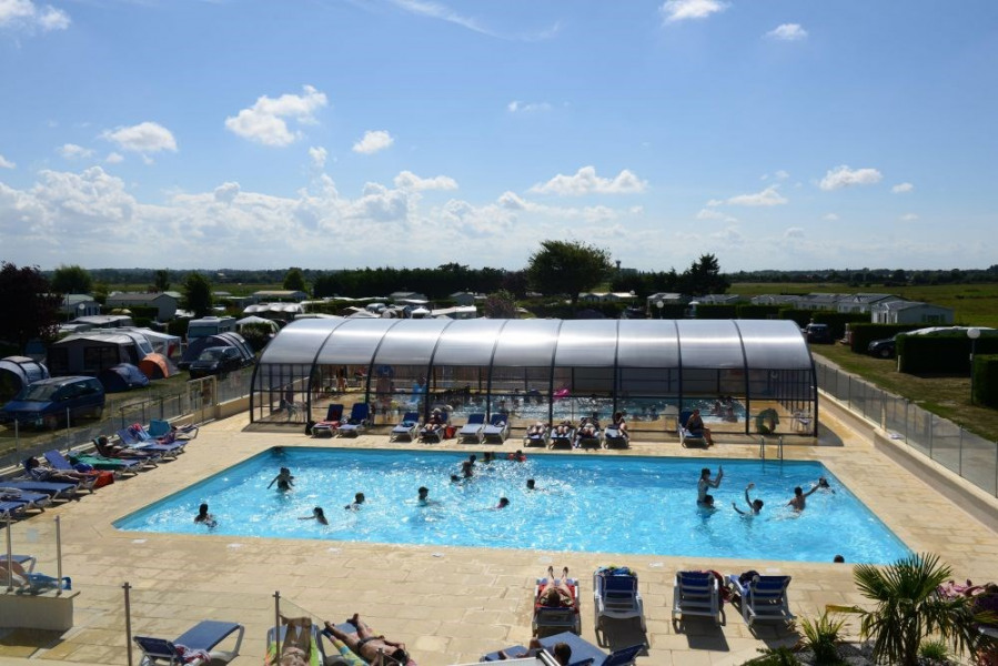 Camping Les Peupliers, 100 emplacements, 63 locatifs