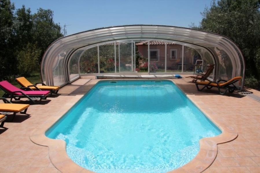 Villas climatisées 2 chambres avec piscine partagée, chauffée et couverte 3 étoiles, 3 épis Gîtes de France