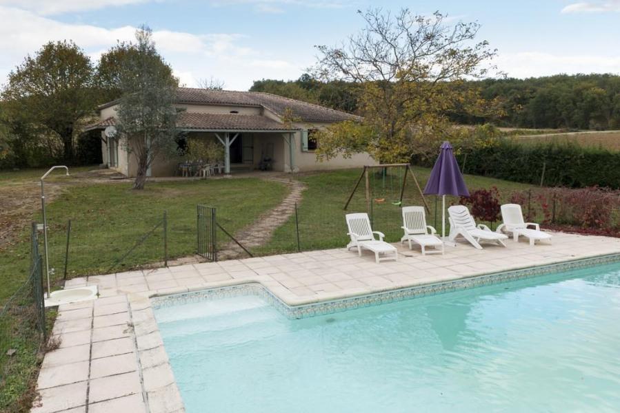 pour 8 pers. avec piscine privée, Castelnaud-de-Gratecambe