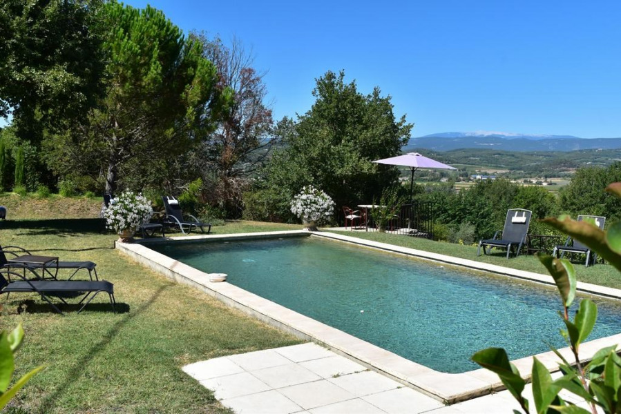Location vacances Lacoste -  Appartement - 3 personnes - Barbecue - Photo N° 1