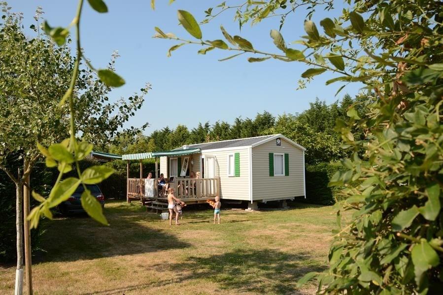 Camping Village de La Guyonnière, 178 emplacements, 136 locatifs