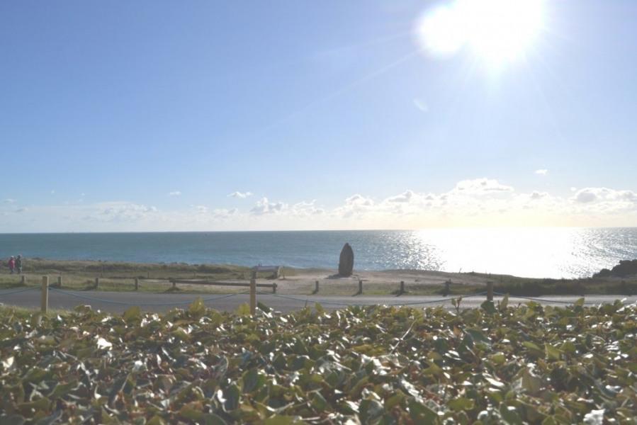 APPARTEMENT au rez-de-chaussée avec terrasse face à la mer côte sauvage