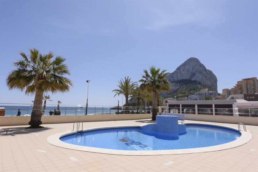 Superb apartment by the sea in Calpe
