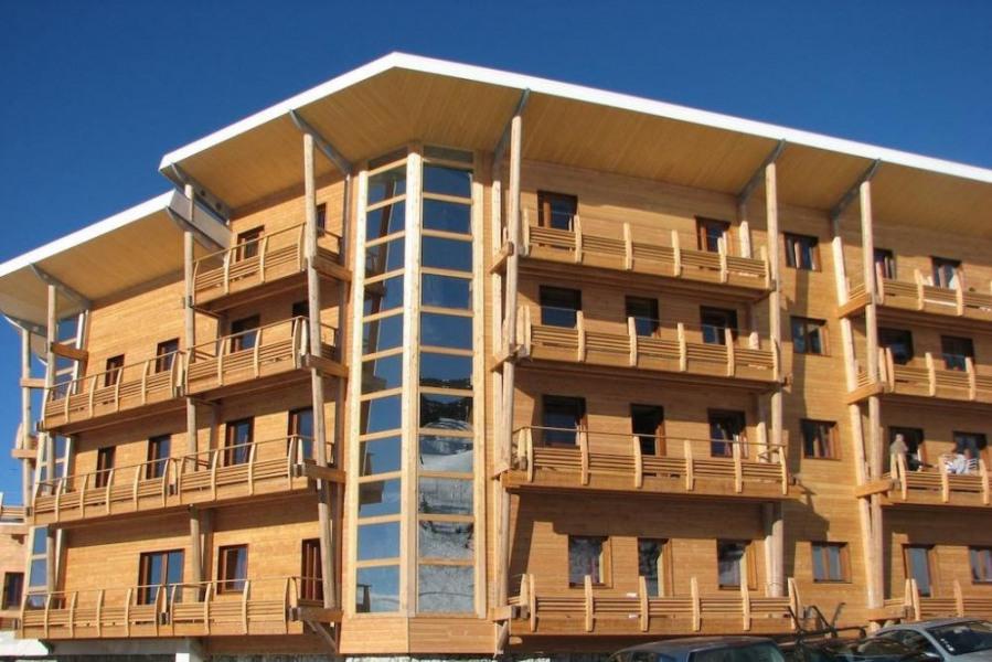 Appartement 3 pièces (6 personnes) - L'établissement Les Balcons de Recoin - Chamrousse est situé...