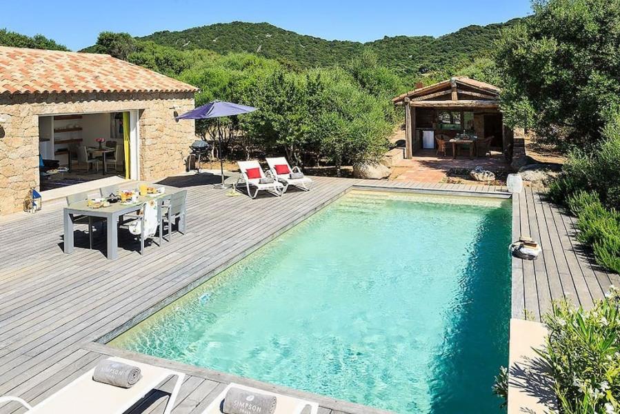 Villa avec piscine privative au coeur du maquis