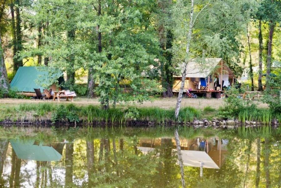 Huttopia Rillé, 133 emplacements, 51 locatifs