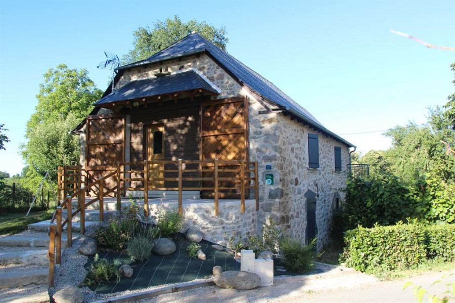 Holiday rentals Lanuéjouls - Cottage - 5 persons - BBQ - Photo N° 1