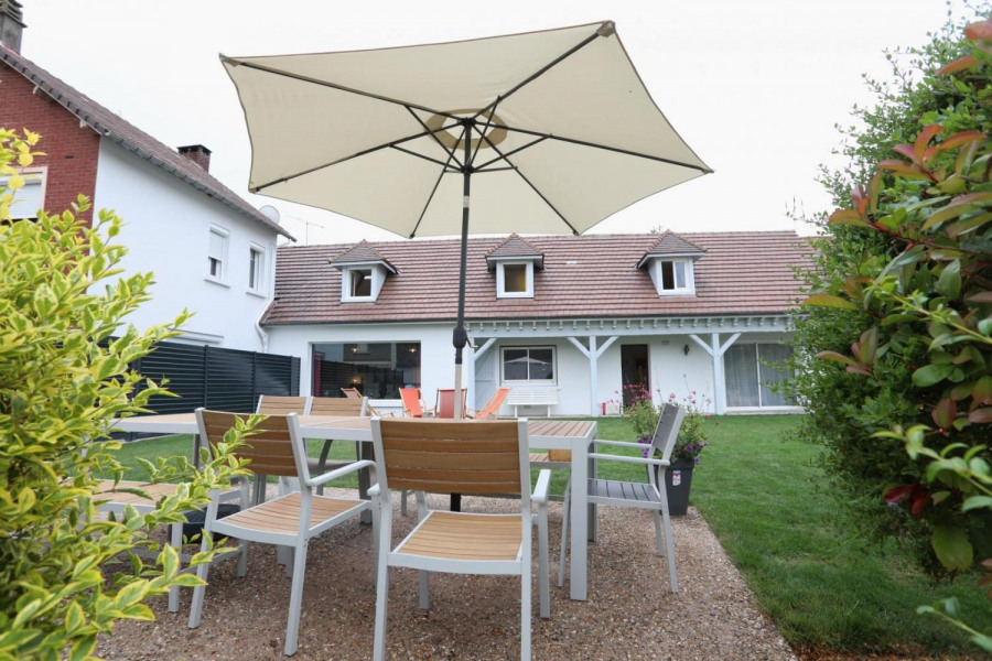 Location vacances Bouttencourt -  Gite - 9 personnes - Barbecue - Photo N° 1