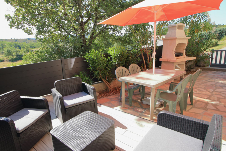 Holiday rentals Balazuc - Apartment - 3 persons - BBQ - Photo N° 1