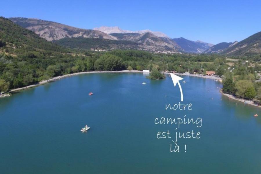 Camping Les Rives du Lac, 186 emplacements, 24 locatifs
