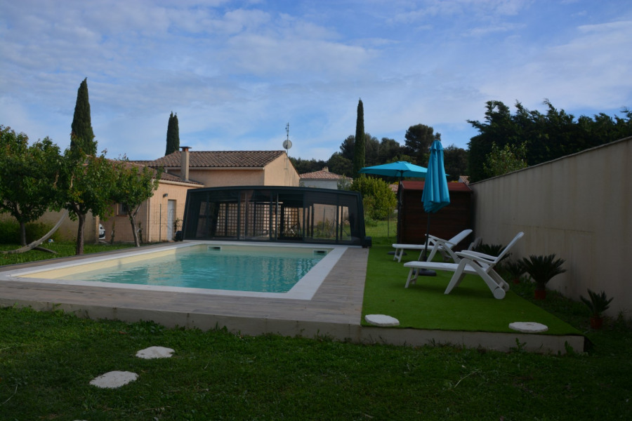 Holiday rentals Vacqueyras - Apartment - 4 persons - BBQ - Photo N° 1