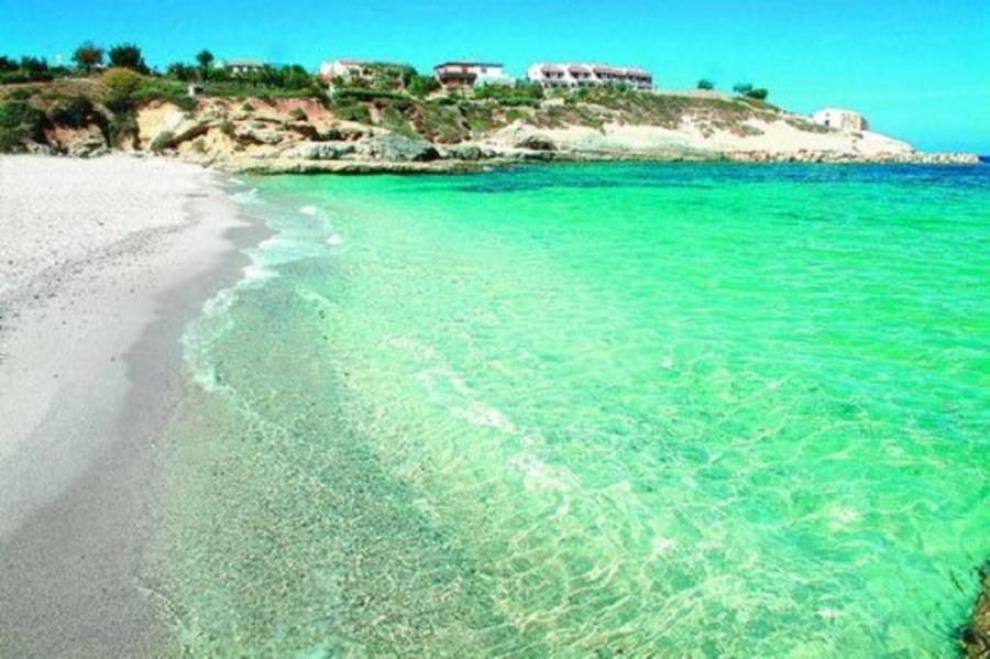 Localisation appartement 4 à 6 personnes  Moriani Plage Haute Corse