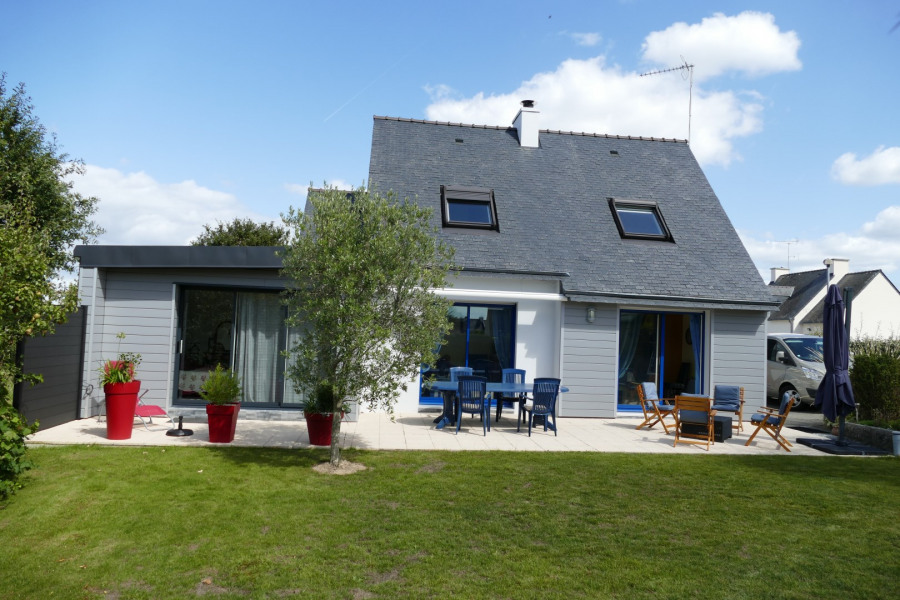 Location vacances Trégunc -  Maison - 8 personnes - Barbecue - Photo N° 1