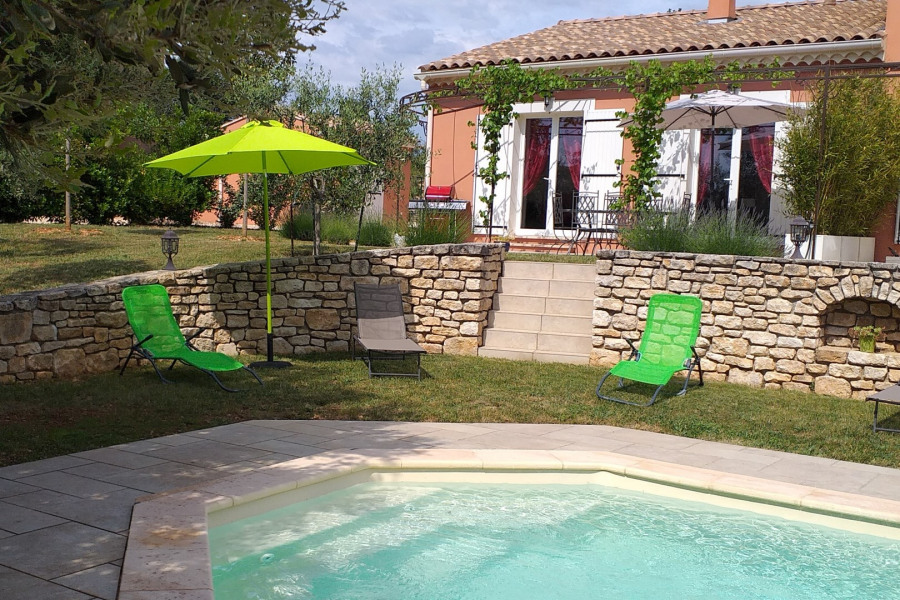 Location vacances Orgnac-l'Aven -  Gite - 6 personnes - Barbecue - Photo N° 1