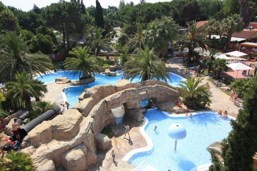 Camping L'Hippocampe, 171 emplacements, 50 locatifs