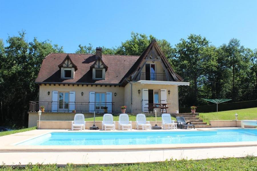 pour 8 pers. avec piscine privée, Savignac-Lédrier