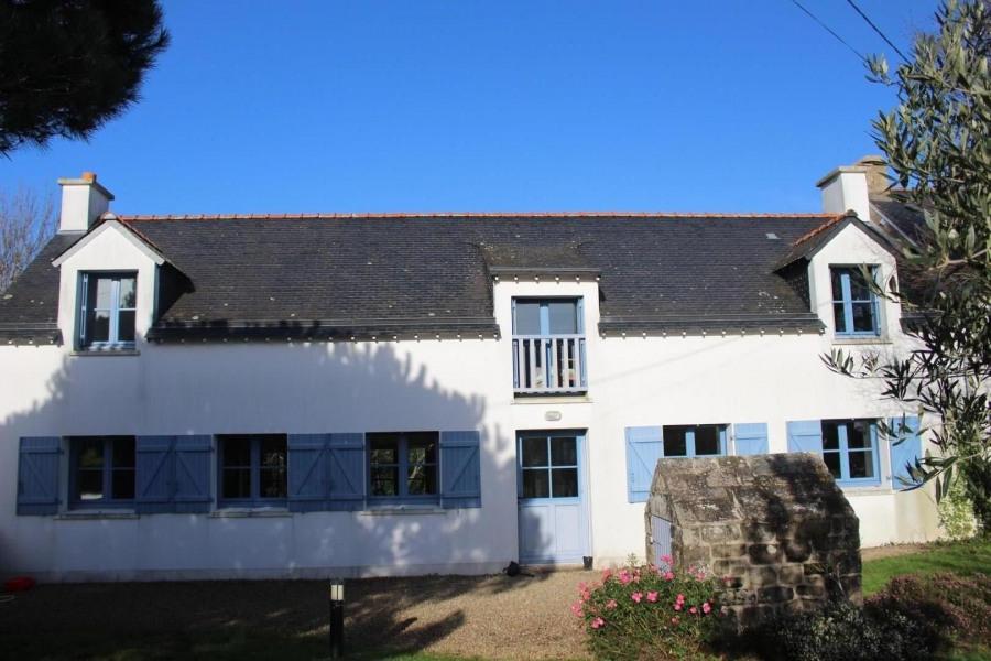 Maison très ensoleillée (côté sud)