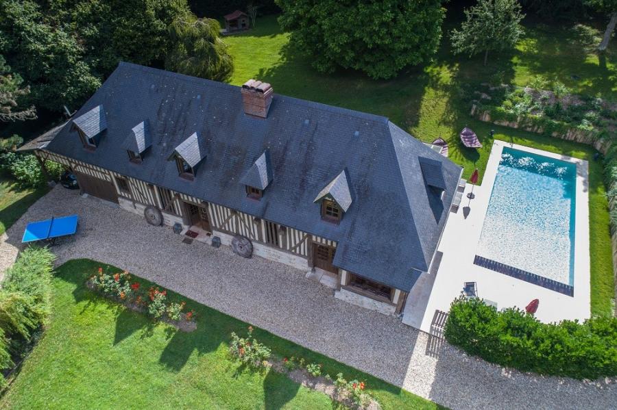 AUTHENTIQUE MAISON 300 m2 NORMANDE DE CHARME PONT L'EVEQUE