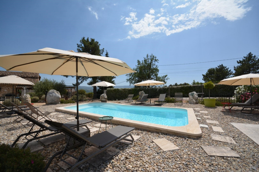 Location vacances Gargas -  Gite - 2 personnes - Barbecue - Photo N° 1