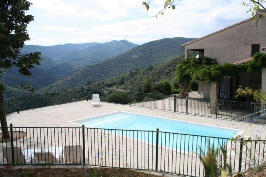 SOUDORGUES, dans le Gard, belle villa pour 10 personnes, dans splendide environnement que sont les Cevennes