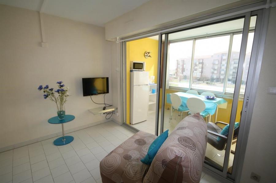 Location vacances Frontignan -  Appartement - 3 personnes - Télévision - Photo N° 1