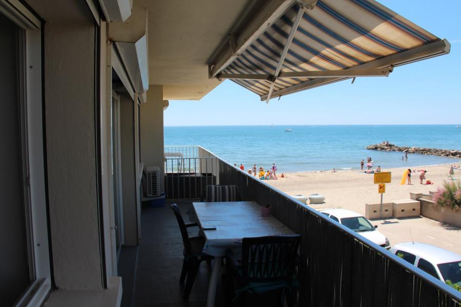 F3 lumineux 6 couchages avec terrasse belle vue plage et mer 1er étage expo SO Direct plage Pas de route à traverser