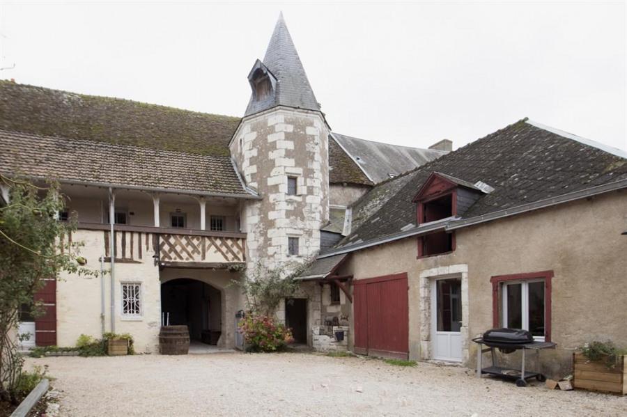La Closerie de Chambord avec sa tourelle 17eme