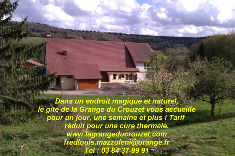 Gîte de la Grange du Crouzet