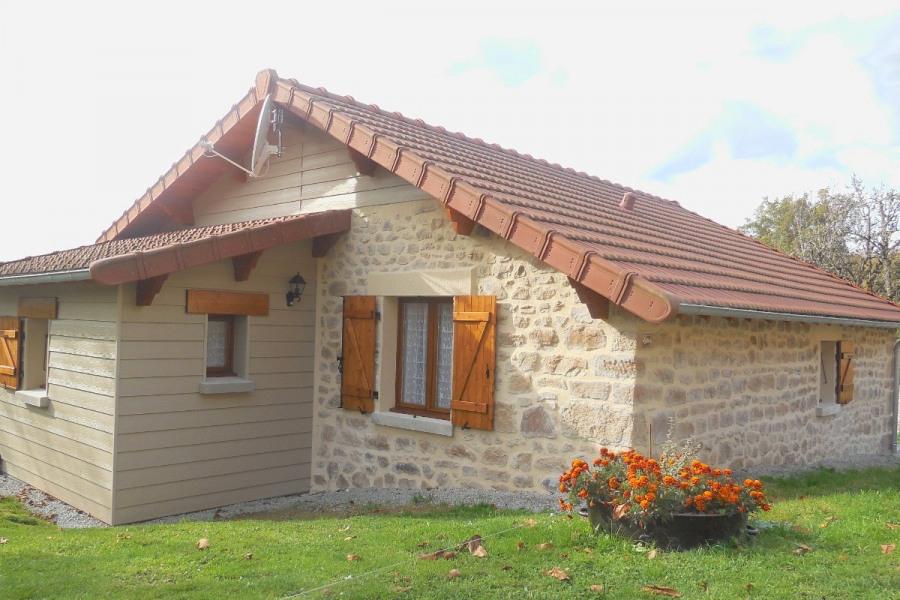 Maison rénovée en 2016, 2 chb-4 pers., à la campagne (Creuse)