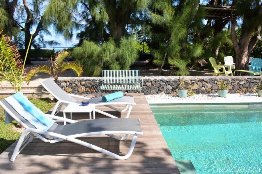 La piscine en pierres naturelles