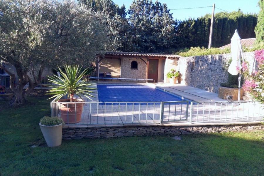 Olivier et piscine