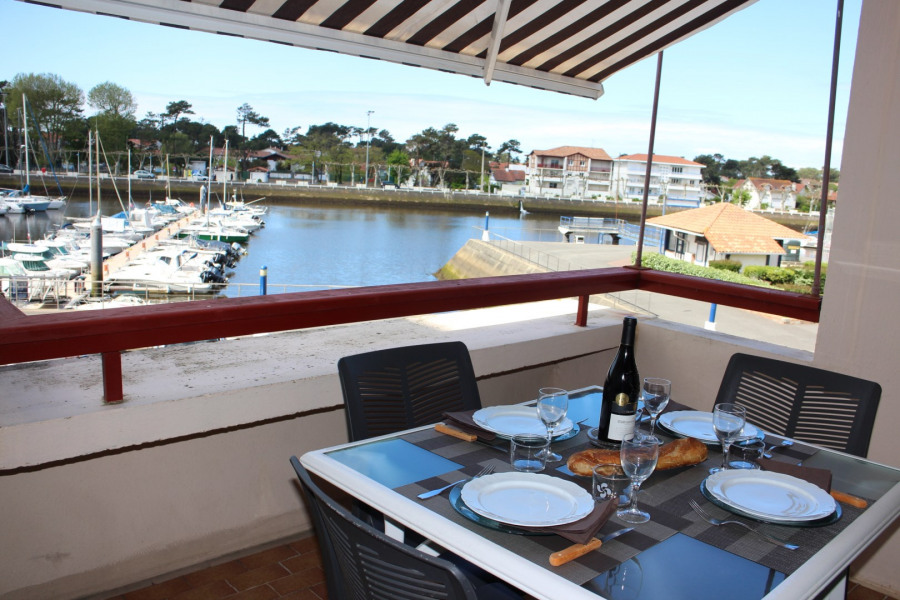 Location vacances Capbreton -  Appartement - 4 personnes - Salon de jardin - Photo N° 1