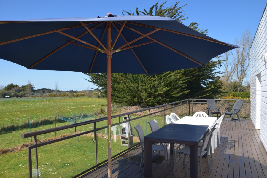 Holiday rentals Locquirec - House - 14 persons - BBQ - Photo N° 1
