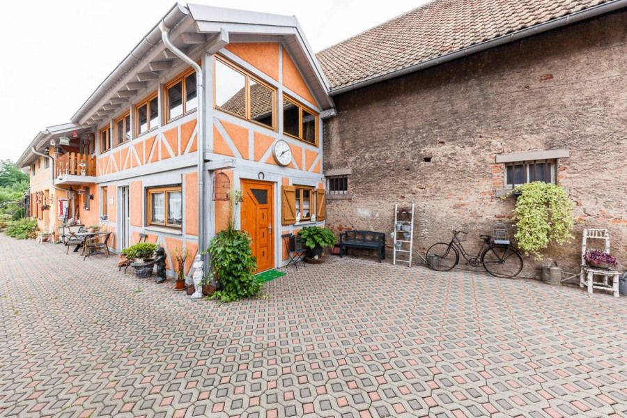 Location vacances Sélestat -  Gite - 2 personnes - Salon de jardin - Photo N° 1