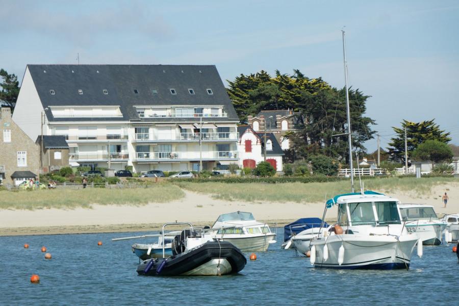 L'appartement vu de la mer