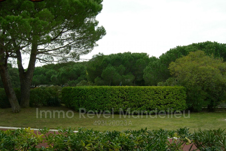 Holiday rentals Mandelieu-la-Napoule - Apartment - 1 persons - Loggia - Photo N° 1