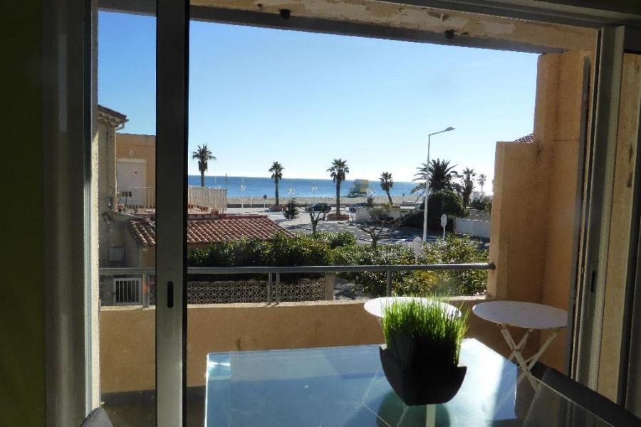 Alquileres de vacaciones Leucate - Apartamento - 4 personas - Televisión - Foto N° 1